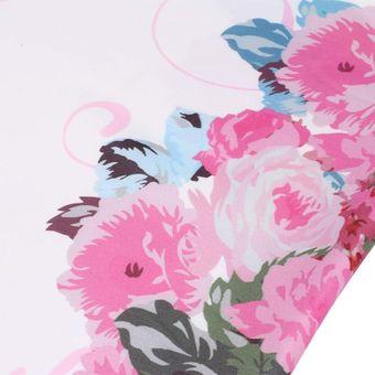 Agotado Vestido De Tubo Manga Corta Yucheer Estampada Floral Para Mujer -  Blanco 2a9d255bb050