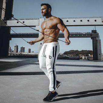 Pantalones Deportivos Para Hombre Jogger Gym Bodybuilding Pantalones Blancos De Algodon De Verano Para Hombre Pantalones Deportivos Para Correr Khaki Linio Peru Ge582fa1jb7wblpe
