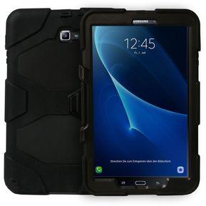 fc03b125f8477 Funda Jyx Accesorios Samsung Tab A 2016 10.1 T580 Robot Uso Rudo - Negro