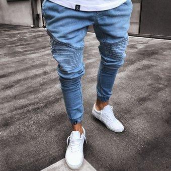 Moda Pantalones De Mezclilla Para Caballero Jeans Hombre Azul Linio Chile Ge657fa1gsqt0lacl