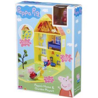 Peppa Pig - Casa De Juego Y Jardín - Original