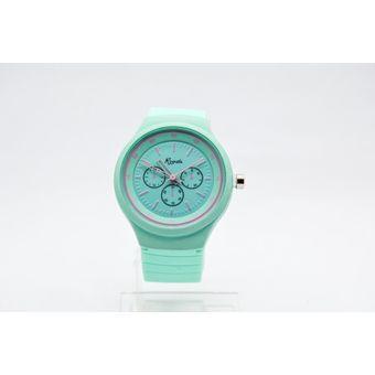 950a54bce93e Compra Reloj Analogico Goma Mujer Kipuy - Verde online