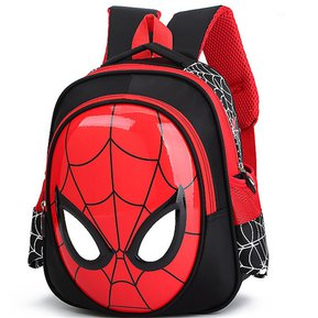 7ad0ebd444e 3D 3-6 año viejo niño Spiderman escuela mochila - negro