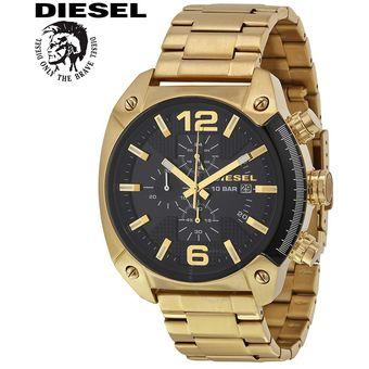 43d9b1fc53d6 Reloj Diesel Overflow DZ4342 - Analógico Cronometro Fecha – Negro Dorado
