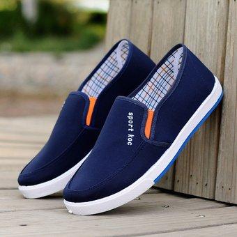 c276c2ec248 Zapatos De Lona Para Hombres Jóvenes Calzado De Estudiante Zapatos Hombre