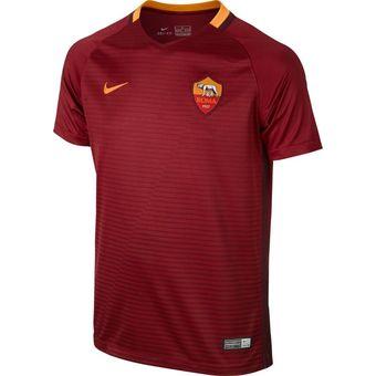 a296ccf0b1 Compra Camiseta Hombre Nike Roma Home Stadium 2017-Azul online ...
