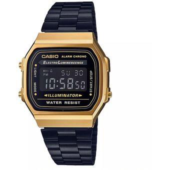 e3d5eaad647d Compra Reloj Casio Vintage Original A168WEGB1BVT online