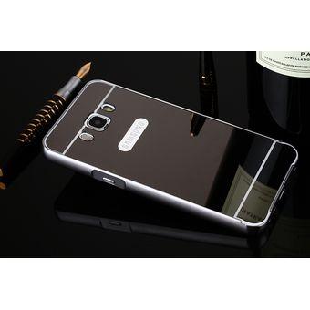 c7ea376cc96 Case Espejo De Lujo / Estuche / Protector Samsung Galaxy J7 2016 - Negro