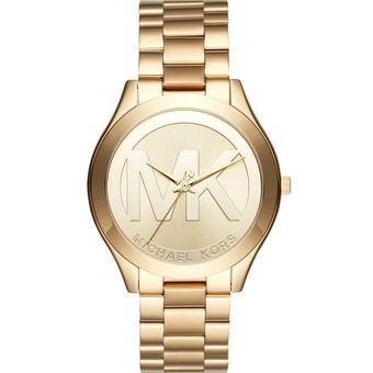 Reloj mujer dorado mk