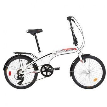 Bicicleta Plegable Top Mega Folding 7vel Shimano + Linga