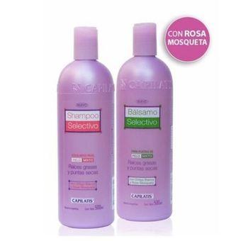 27b0a37bd4b Compra Set Capilatis Shampoo + Bálsamo Base Grasa Puntas Secas ...