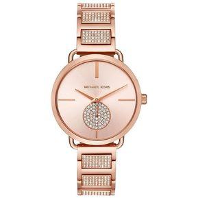 e64d21bb46c Reloj Análogo marca Michael Kors Modelo: MK3853 color Oro Rosa para Dama