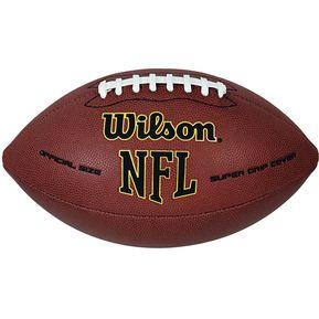 Balón De Fútbol Americano Wilson Oficial Nfl Supergrip f79f8385035