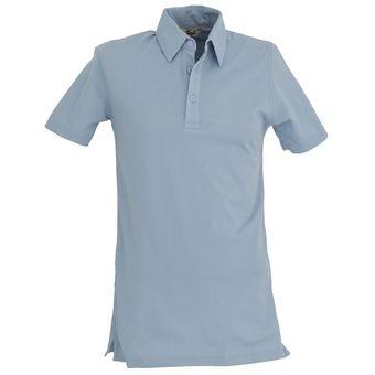 Playera Caballero POLO Dry FIT Hombre Dacache Uniforme Empresarial  Ejecutivo Oficina Color-Azul Cielo 84da7b5d7fb5a