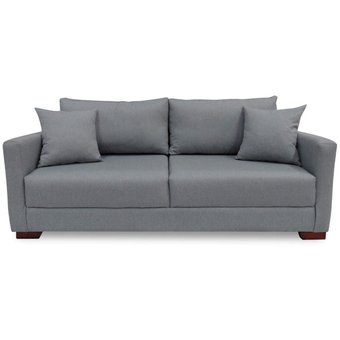Compra sofa 3 puestos tradis tela gris online linio colombia for Muebles atlantico norte