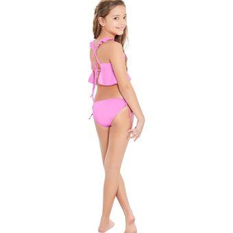 bf15842d2939 T.B Tankini De Niña Para Niña Fi Swimwear Kids 781611N Lila