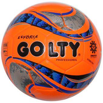 Compra Balon Futbol  5 Profesional Golty Euforia T651372 - Naranja ... 1ac4cc4c28c30