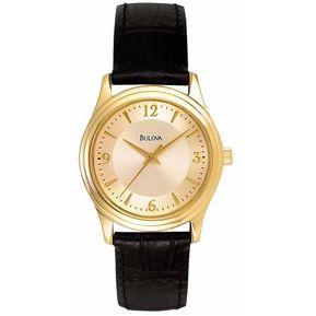 fef11ac34bc3 Reloj Bulova Corporate 97V25 Para Dama-Dorado TIME SQUARE