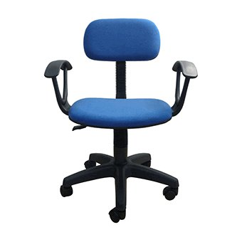 Compra silla secretarial con brazos azul online linio m xico for Sillas para oficina office max