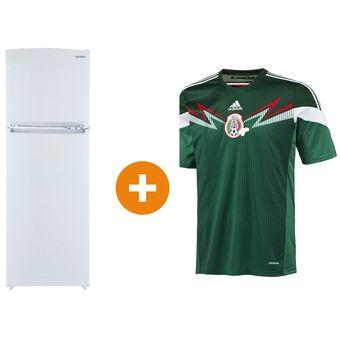 252f1cc0b4162 Agotado Refrigerador 10 Pies Cúbicos Samsung Manijas Vertical RT32YNSW5 +  Jersey Adidas G86985 Selección Mexicana FMF (