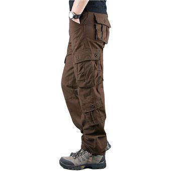 Pantalones Cargo Para Hombre Pantalones Militares De Color Caqui P Linio Peru Un055fa0j4hqzlpe