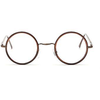 74023de011 Las Lentes ópticas Vintage ópticos Gafas Redondo Los Anteojos ...