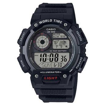a191299f5d1e Compra Reloj Casio AE-1400WH-1A Digital Negro Para Hombre online ...