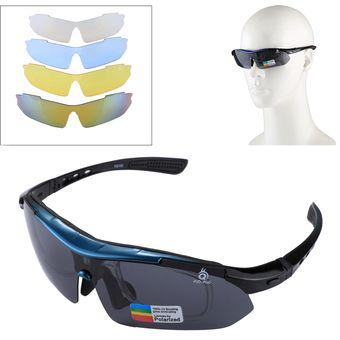 e0772bdd70 Proteccion UV400 Deportes Gafas De Sol Con Protección Uv400 Lente 4 X Extra  Para Disparar /