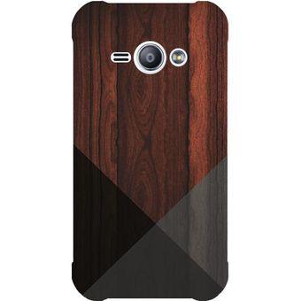 2a657947084 Compra Funda Case Samsung Galaxy J1 Ace - Madera Triangulos online ...
