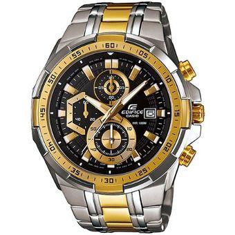 b593b19049c9 Agotado Reloj Casio Edifice Cronógrafo EFR-539SG-1AV Analógico Hombre -  Negro