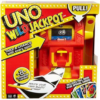Compra Uno Wild Jackpot Mattel Juegos De Mesa Mattel Dng26 Online