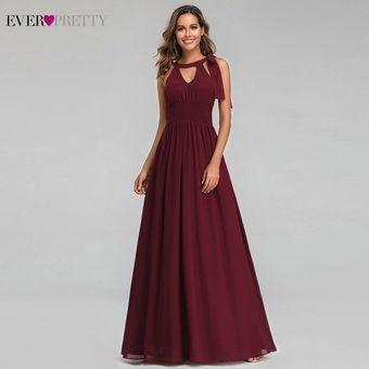 Vestidos De Noche Siempre Bonitos Elegantes Vestidos Largos Línea A
