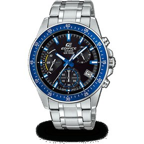 b3bb7984f8ac Reloj Casio - Edifice EFV-540D-2A Hombre Plateado Azul