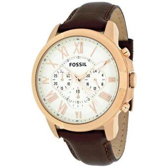 0d1a2ffe20d2 Compra Reloj Fossil Grant FS4991 Para Caballero - Marrón online ...