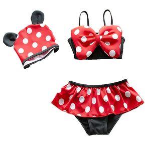 97899b1ce Bikini Traje De Baño Bikinis Niña (Rojo) 2 Año - 8 Años