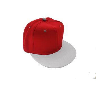 Compra Gorra Plana Snack Pack Unicolor Rojo-Blanco Original online ... e9c175b7638