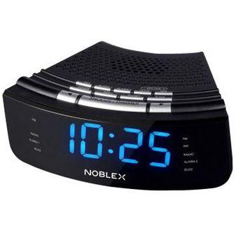 Radio Reloj Noblex Rj950 Despertador – Negro