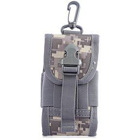 cfeed4209539c D - 5 Agua Multifuncional Camuflaje Bolsa Del Teléfono Táctico Militar  Cintura Bolsa Resistente Tamaño