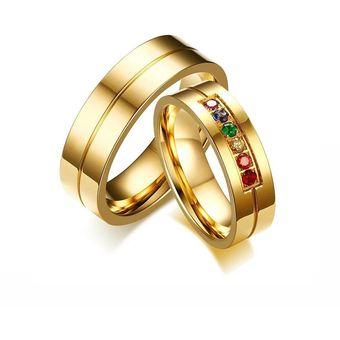 bc0499e296bb Aros De Matrimonio. Hombre. JOYAS LUCYANA. Enchapados Oro Amarillo De 18K