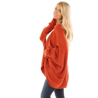 b631b0d96be5 Compra Sueter Cardigan Chompas Genérico Mujer-Naranja online | Linio ...