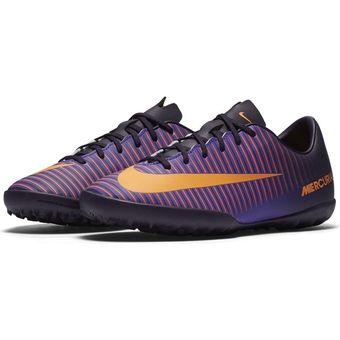 Compra Zapatos Fútbol Niño Nike Jr Mercurial Vapor XI TF -Morado ... b6d0be9f2fcfe