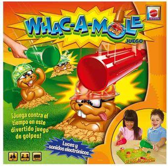 Compra Whac A Mole Mattel Juego De Mesa R3139 Guacamole Online