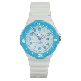fd882ded6a2e Compra Reloj Casio Lrw-200h-2B Blanco Azul Mujer Deportivo online ...