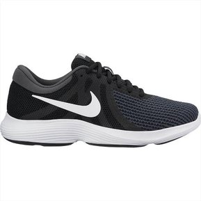 c42c2c68a0a5d Tenis Running Mujer Nike Revolution 4-Negro con Blanco