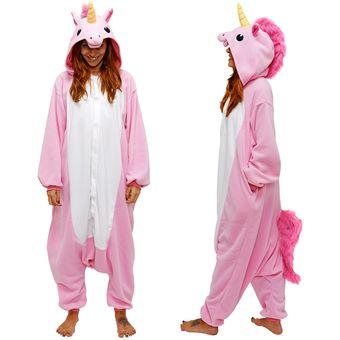 eb8c4bfdda Compra Pijama Mameluco De Unicornio Tipo Kigurumi Cosplay Rosa ...