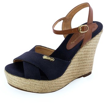 89ed3560d2c Compra Sandalia Pepe Jeans Para Mujer Plataforma - Aline 1783 Azul ...