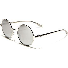 acedce69ee Gafas Lentes Sol Filtro Uv 400 Estilo Aviador Mujer Eyed12006 Plateado