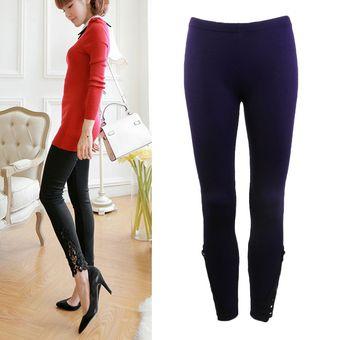 2269b4bdca Agotado EW Navidad Las Mujeres Slim Stretchy Skinny Cintura Alta Pantalones  Leggings De Algodón Elástico Lapiz -