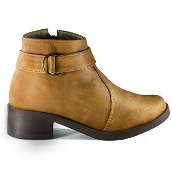 c5a72356 Zapato tipo botin Salome - Miel