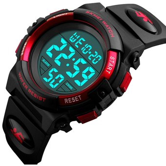 mejor baratas 62c63 14aa0 Contra Agua Sports Reloj Cronometro Digital Para Niño Y Dama